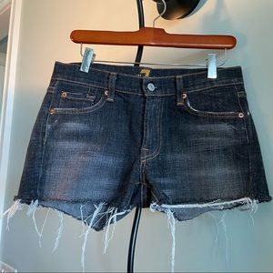 7 FOR ALL MANKIND by Jerome Daham CUT- OFF SHORTS